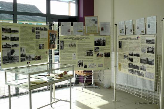 Inauguration de l'exposition Bucy le Long