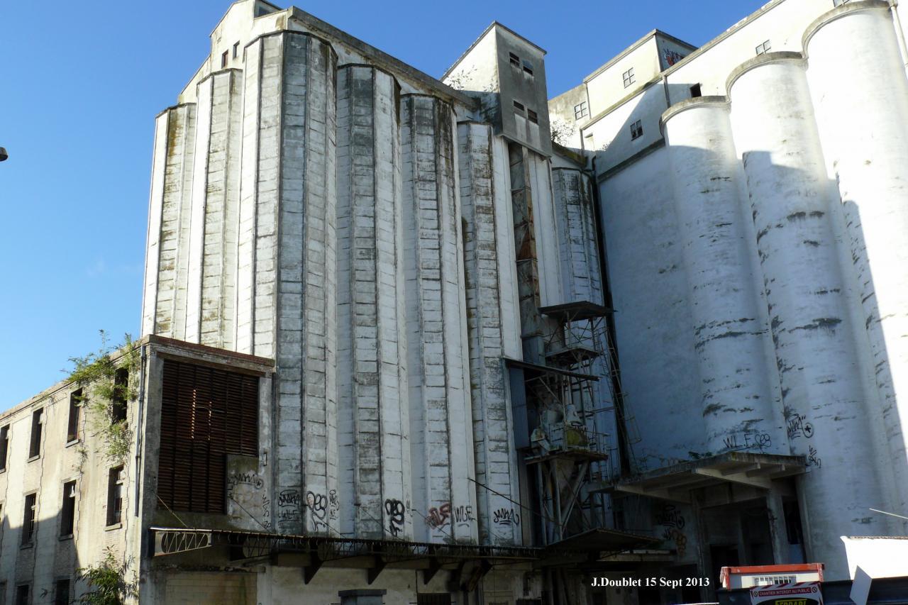 3 Silo Demolition : Soissons démolition du silo